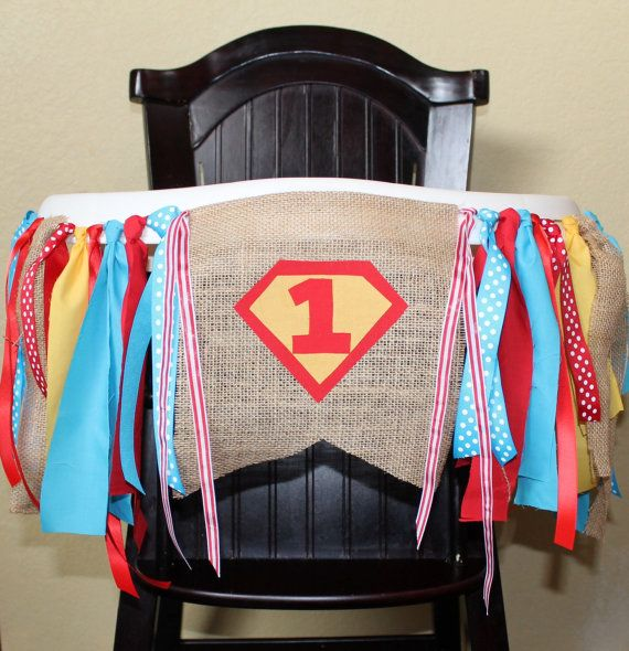 Hey, I found this really awesome Etsy listing at https://www.etsy.com/listing/181511367/superman-birthday-garland-high-chair