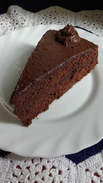 This no all / Disznóól - KonyhaMalacka disznóságai: Egyszerű csokitorta