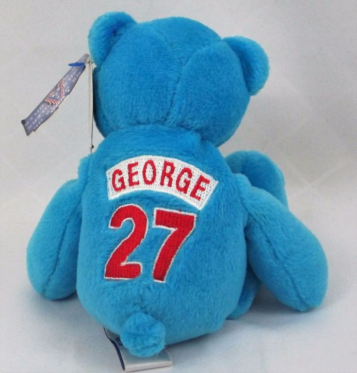 Pro Bears 1998 Tennessee Oilers Eddie George 27 Houston NFL Officially Licensed #LimitedTreasuresProBears #TennesseeOilers