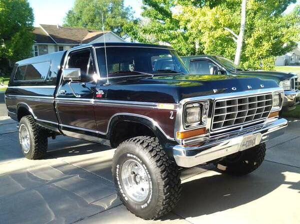 Black Cherry Paint Ford LightningPickup TrucksBig