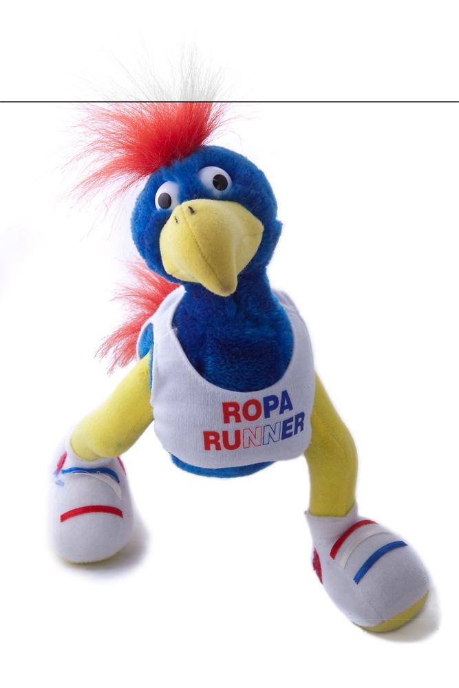 Onze enige echte Roparun knuffel!