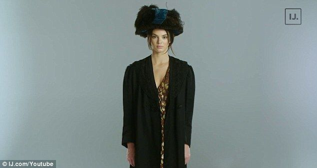 Advocate: Kendall Jenner is dressed as a woman suffragette in a new promotional video for Rock The Vote