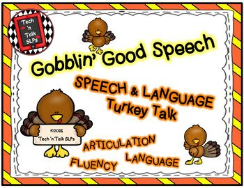 FREE Get ready for laughs as your students participate in Turkey TalkThis set includes one game board and task mats for play as an articulation, language or fluency activity.