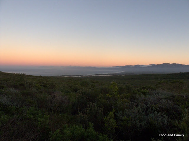 Sunrise at Grootbos - a stunning nature reserve, near Hermanus, South Africa