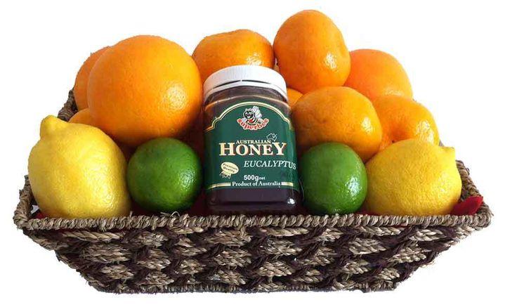 FRUIT HAMPERS + FRUIT BASKETS - FREE DELIVERY  igiftFRUITHAMPERS.com.au - Get Well Gift Citrus Fruit Basket   Australian Eucalyptus Honey, $79.00 (http://www.igiftfruithampers.com.au/get-well-gift-citrus-fruit-basket-australian-eucalyptus-honey/)