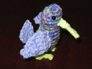 Amigurumi Hummingbird Pattern : 17 Best images about Bird Crochet Patterns on Pinterest ...