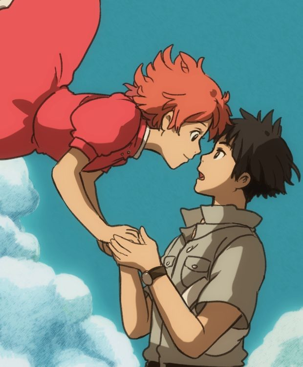 Sosuke and Ponyo as adults, Ponyo   Studio Ghibli ...