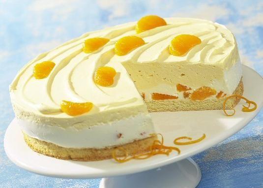 Eine fruchtig-sahnige Torte mit Mandarinen