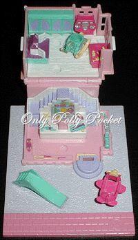 1993 - Polly Pocket Toy Shop - Pollyville    aka Polly's Toy Shop - Tiny World    Bluebird Toys Ref. No. 940281    Mattel #11197