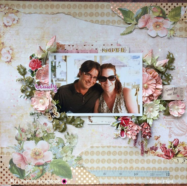 Beauty *** MCS 2017 LE Kit *** - Kaisercraft - Cherry Tree Lane Collection + Prima - Love Clippings Collection