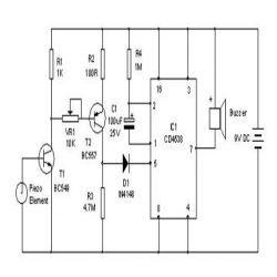 Vibration Sensor Circuit Diagram, 2019
