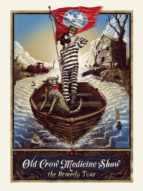 Old Crow Medicine Show - Zeb Love - 2014 ----