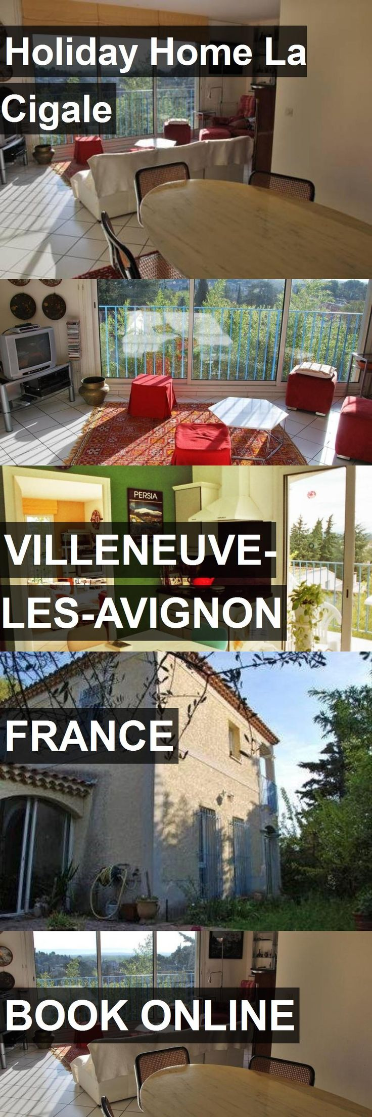 Hotel Holiday Home La Cigale in Villeneuve-les-Avignon, France. For more information, photos, reviews and best prices please follow the link. #France #Villeneuve-les-Avignon #travel #vacation #hotel