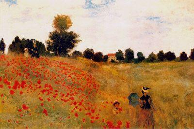 Poppies - Claude Monet