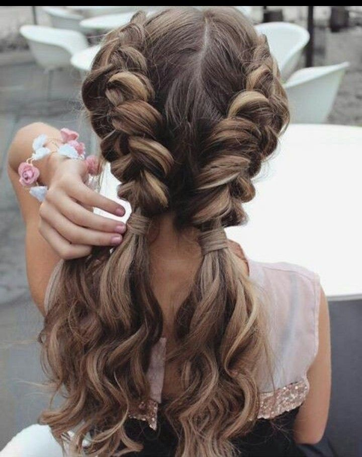 Shared By Find Images And Videos About Hair Hairstyle And Braid On We Heart It The In 2020 Braids For Long Hair Medium Hair Styles Easy Hairstyles For Long Hair