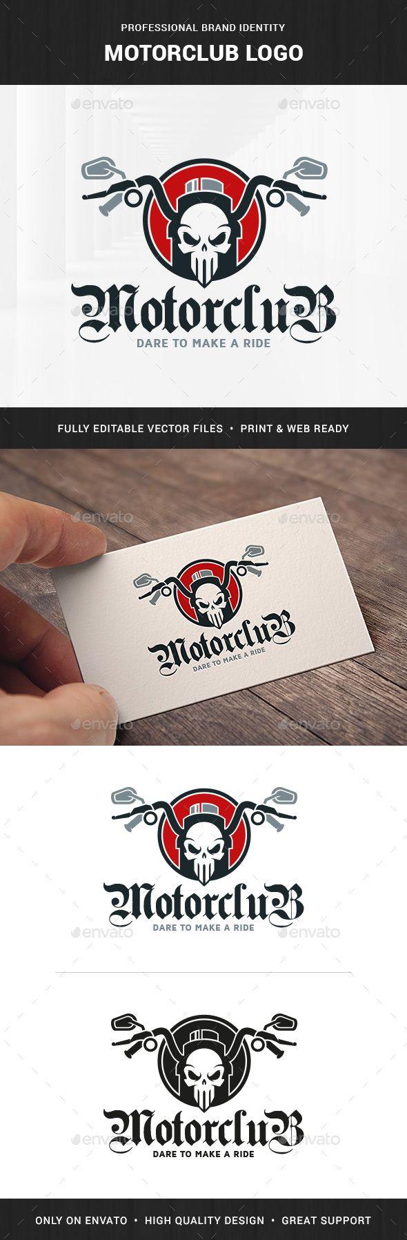 84 best a bike logo templates images on pinterest font logo motor club logo template v2 biocorpaavc Images