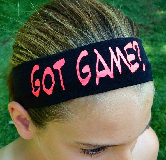 Custom Headbands - Wide- Great for Teams, Playing Sports, School Spirit, or Gifts.