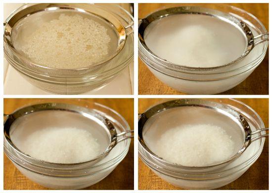 Making Sushi Rice - Step 1