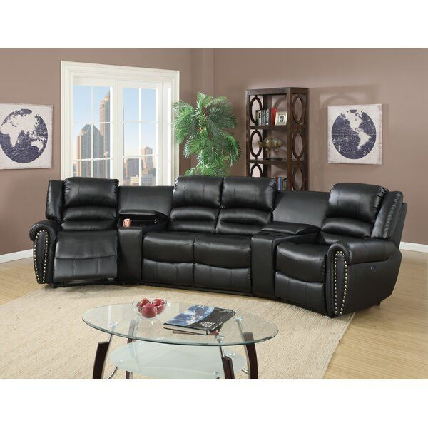 Majeic Entertaining Symmetrical Reclining Sectional In 2020 Home
