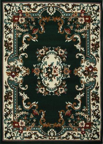 Dark Green Traditional Oriental 8x10 Bordered Medallion Persian Carpet Actual 7 8 X 10 7 Rugs Persian Carpet Area Rugs