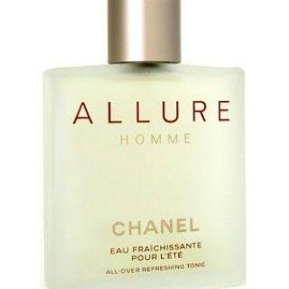 Allure Homme Eau Fraichissante Pour l'Ete #Chanel - ♂ мужской парфюм, 2002 год.