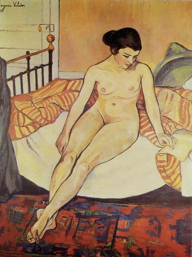 Suzanne Valadon (1865-1938) 몽마르뜨의 대표적인 여성화가로써 우트릴로의 어머니이기도 합니다. 드가, 로트렉, 레느와르 등의 수많은 작품에서 모델을 하면서 그림에 입문하게 되었습니다.