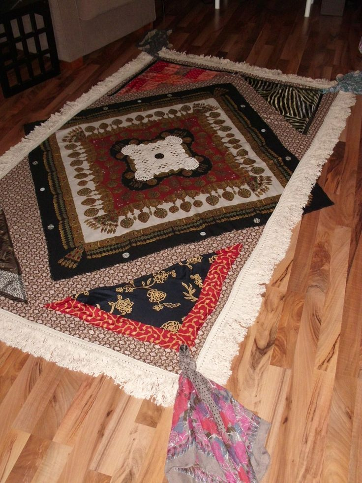 Gypsy / Hippie / Hippy / Vintage / Boho Bed Throw from True Bohemia by HippyHedu on Etsy
