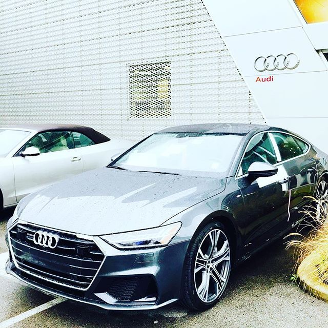 Great Morning World 2019 Audi A7 Fresh Off Of The Truck