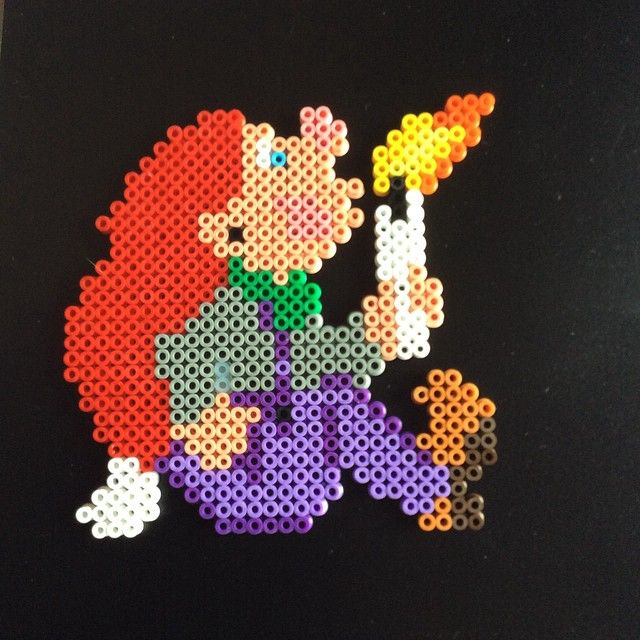 Christmas hama perler beads by kreajoan