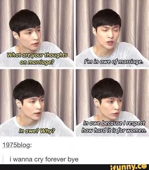 He knows and understands women, that's why he's an ideal type...   HE DESERVES AN OSCAR FK