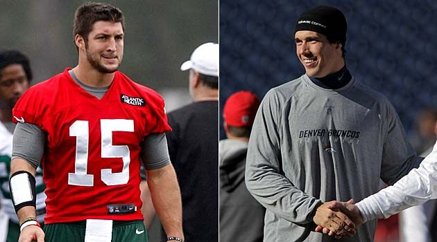 June 25, 2012    Tim Tebow makes fun of Brady Quinn for bragging about Notre Dame - CBSSports.comBrady Quinn, June, Cbssport Com, Tebow, Cbs Sports, Cbssports Com, News Stories, Headlines News, 2012 Tim