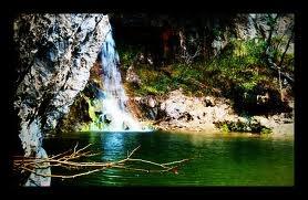 Drymonas Waterfall, Evia Island, Greece