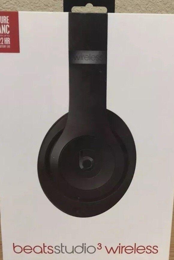 Brand New Original Beats By Dr Dre Studio 3 Wireless Over The Head Headphone Headphone Audio Headphones Portable Audio