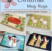 Christmas Mug Rugs: 10 Seasonal Patterns - via @Craftsy