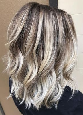 Hottest Hair Colors for Women's Medium Hairstyles 2017 Spring-Summer #HairstylesForWomenMediumLength