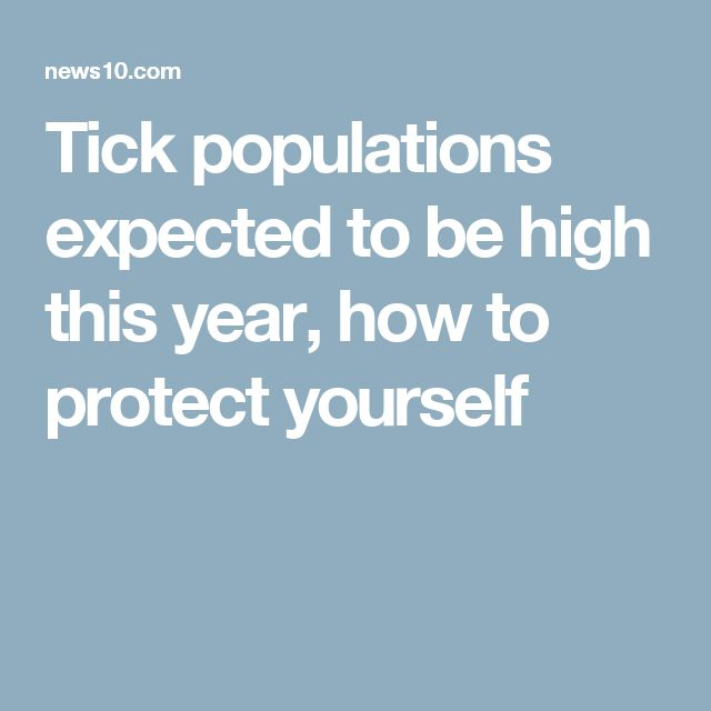 Tick populations expected to be high this year, how to protect yourself