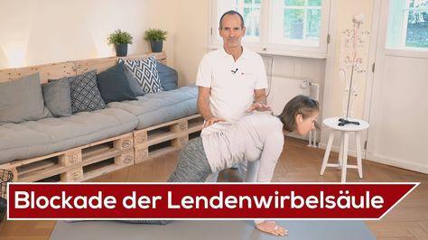 LWS-Blockade selber lösen ⚡️ Effektive Übungen | Liebscher & Bracht | Lendenwirbelsäule - YouTube
