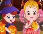 Em Bebê Hazel Noite de Halloween, é hora de festeja o Halloween com a Bebê Hazel e seus amigos. Participe de muitos jogos e atividades dos Dia das Bruxas. Mas antes você tem que vesti-los com suas fantasias de Halloween. Divirta-se com Bebê Hazel!