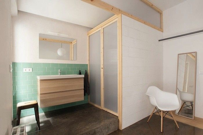 Design Sleuth: Ikea Vanity Installed by Nook Architects: Remodelista