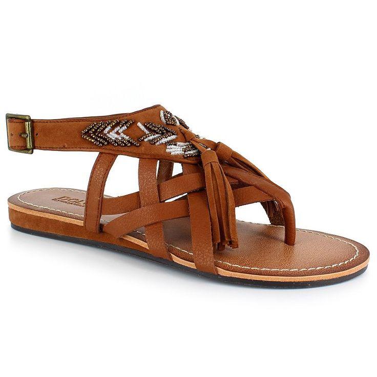 Dolce by Mojo Moxy Subira Women's Slingback Sandals, Girl's, Size: 6.5, Brown