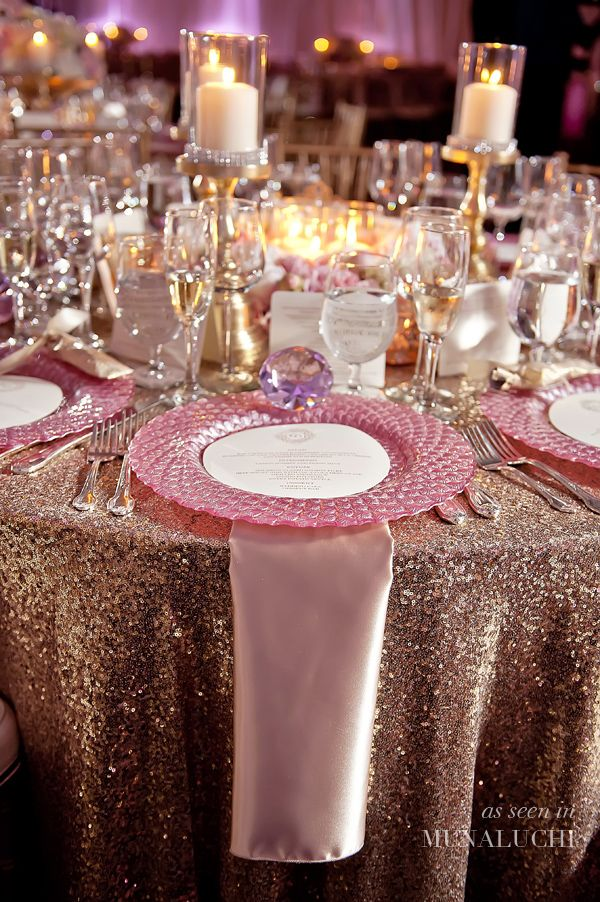 Pink And Gold Quinceanera Centerpiece : Best images about blush silver gold wedding on