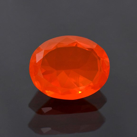 Glowing Orange Fire Opal Gemstone from Mexico 7.75 cts. by KosnarGemCo on Etsy https://www.etsy.com/listing/209665223/glowing-orange-fire-opal-gemstone-from