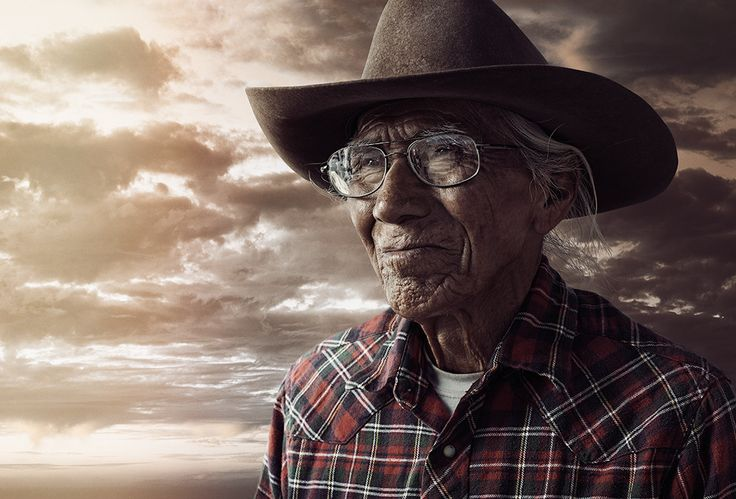 Navajo Diné Elder. His name is not listed.