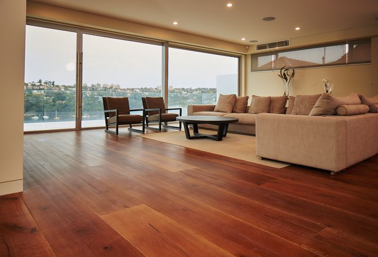 European Oak Vintage Engineered Strip Flooring in a home in Northbridge, NSW. Very modern/contemporary home