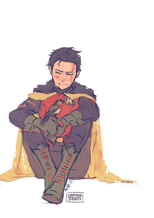 Robin. Damian Wayne