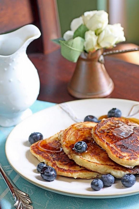 Blueberry Buttermilk Pancakes, http://www.foodporn.net/photo/blueberry ...