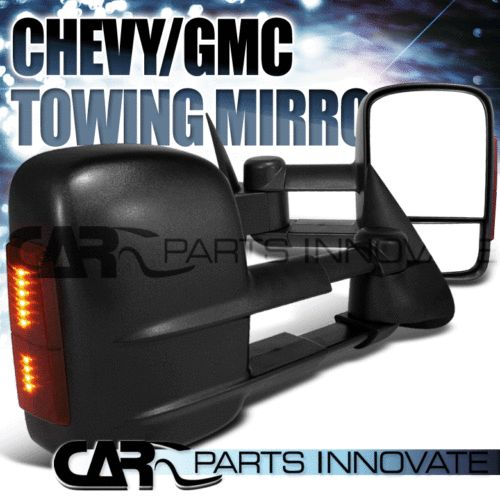 2003-2007 SILVERADO SIERRA POWER HEATED EXTEND TOWING MIRROR+LED SIGNAL in eBay Motors | eBay