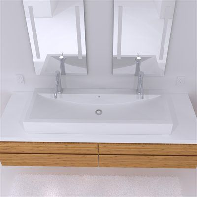 1000 ideas about solid surface countertops on pinterest - Solid surface bathroom countertops ...