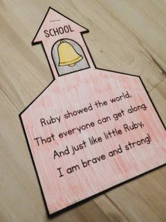 Learn about Ruby Bridges and make this flip-up writing craft