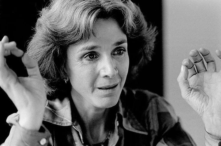 Gisèle Halimi, France 1982. Avocate franco-tunisiénne © Franck Pédersol
